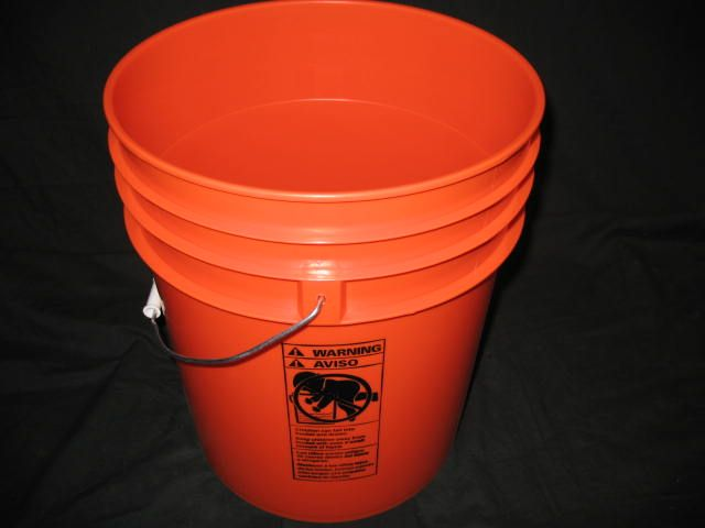 Closeout special 5 gallon home depot orange 285bucket plus closeout special 5 gallon home depot orange 285bucket plus shipping sciox Choice Image
