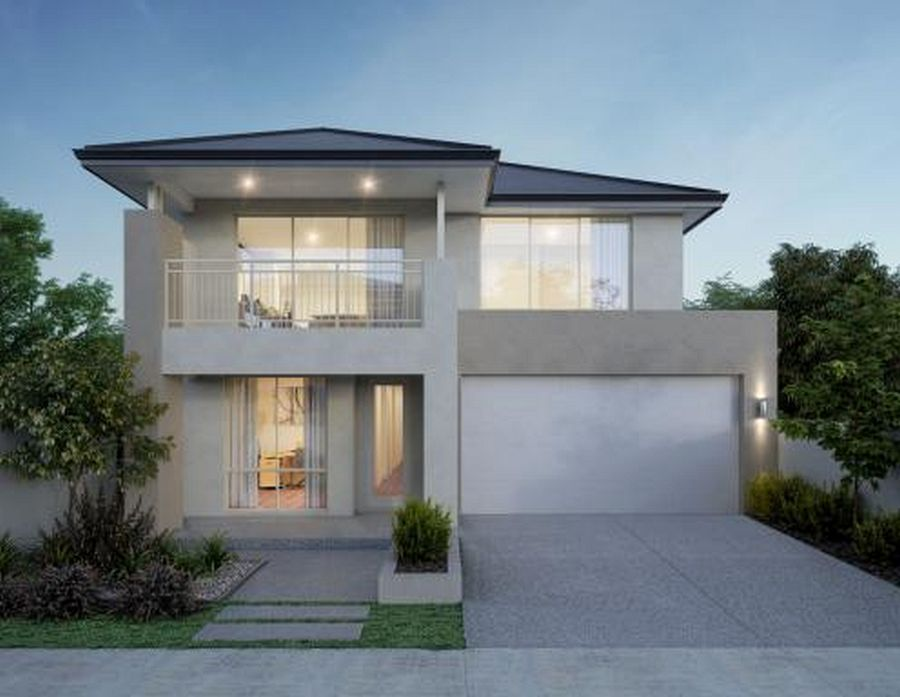 house 2 story design with mid century modern house uk and ...