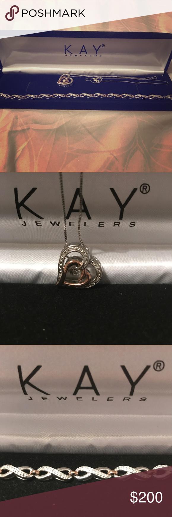Kay jewelers necklace u tennis bracelet set necklace u tennis
