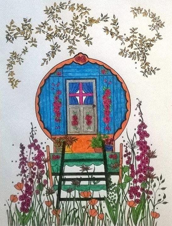 Creative Haven Whimsical Gardens Coloring Book (Creative Haven ...
