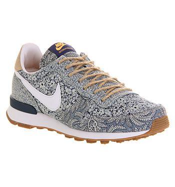 watch 9e873 50233 Nike Nike Internationalist (w) Blue Recall Linen Liberty - Hers trainers