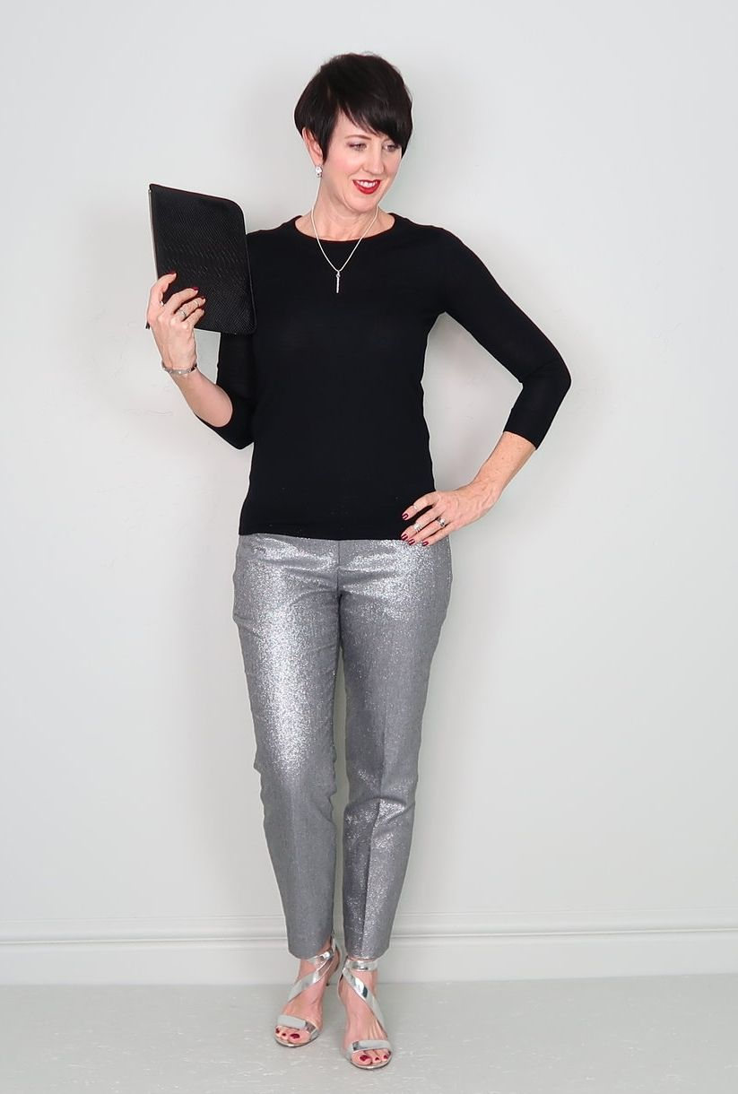 994c75caa312e Not sure what to wear to your holiday parties this season? I have an easy  holiday outfit formula to take you from casual to cocktail, and I put  together 6 ...