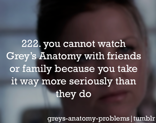 yeah that\'s pretty much true.. No one gets the show the way I do ...