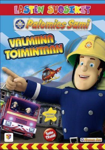 Palomies Sami: Valmiina toimintaan dvd. Tällä dvd-julkaisulla kohtaamme kasapäin vaikeuksia:  edessämme on vuolas tulva ja Elvis on allapäin. Kohtaamme myös palomies Jannen, tunnetko jo hänet?