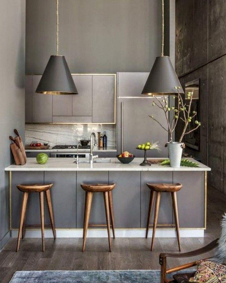 45 Amazing Kitchen Bars Design Ideas in 2020 | Small ...
