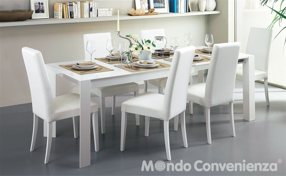 Tavolo e sedia wood mondo convenienza inspiration for - Tavolo quadrato allungabile mondo convenienza ...