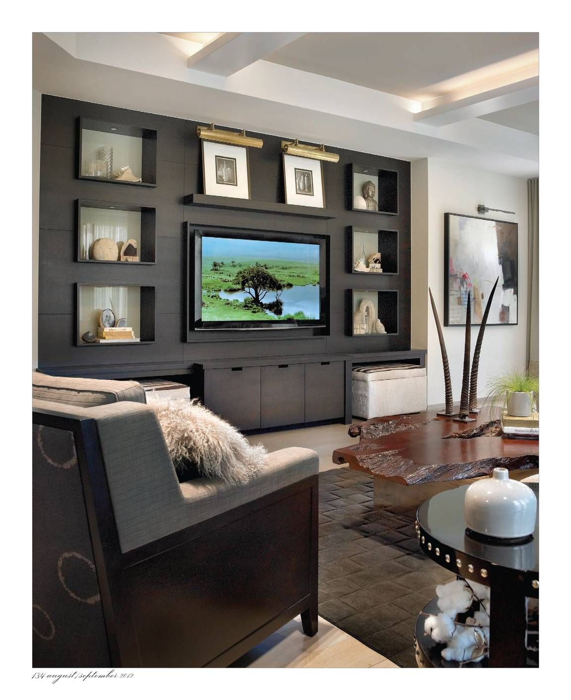 Interiors - August/September 2012 - Page 134 | Basements & Game ...