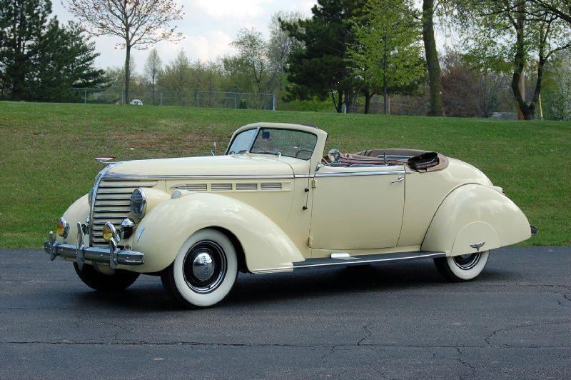 1938 Cars Hudson Photographs And Hudson Technical Data