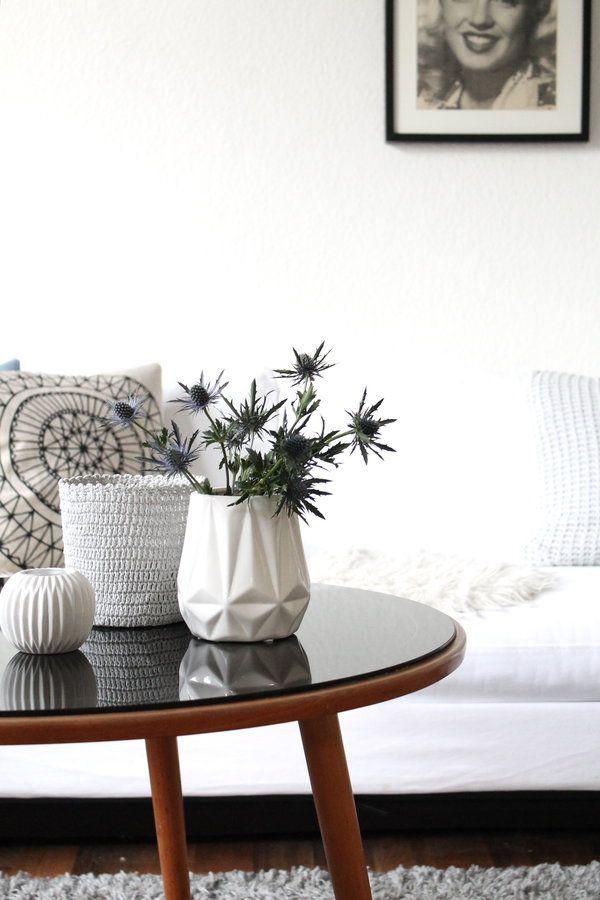 #interior #interiorideas #einrichtung #einrichtungsideen #wohnen #living # Deko #dekoration #decoration #schön #scandinavian #skandinavisch #white  Foto: ...