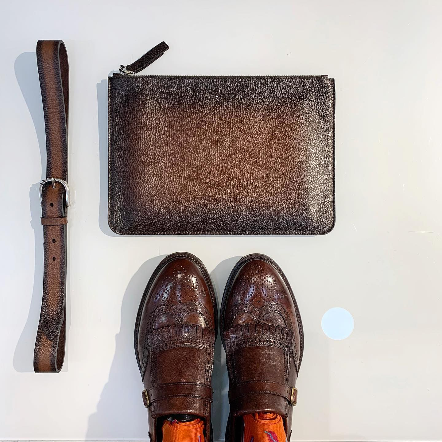 Photo of Orciani man clutch bag