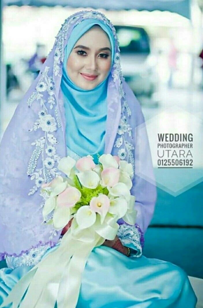 Blue & purple matching? @pictures_of_ilham | Hijab | Pinterest ...