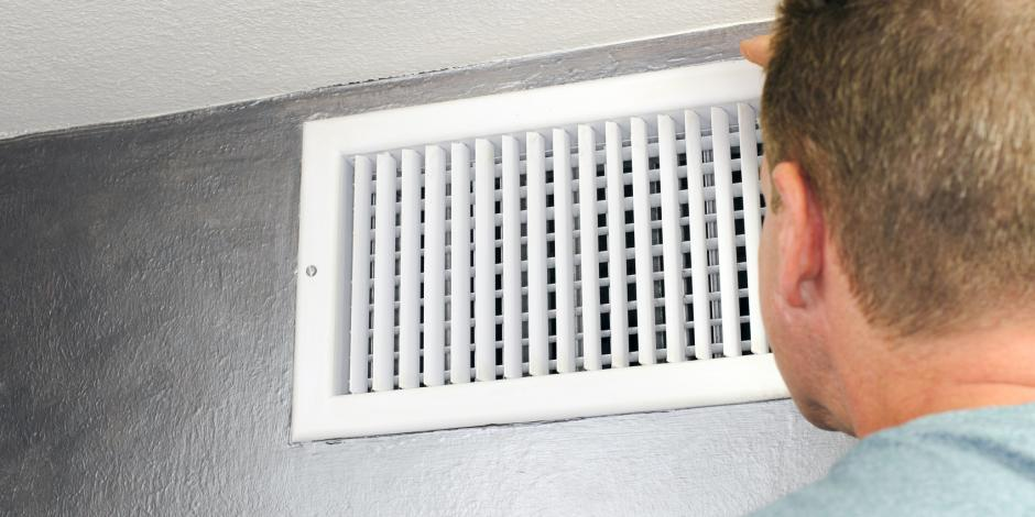 دریچهکولر Air conditioner repair, Duct work, Ducted heating