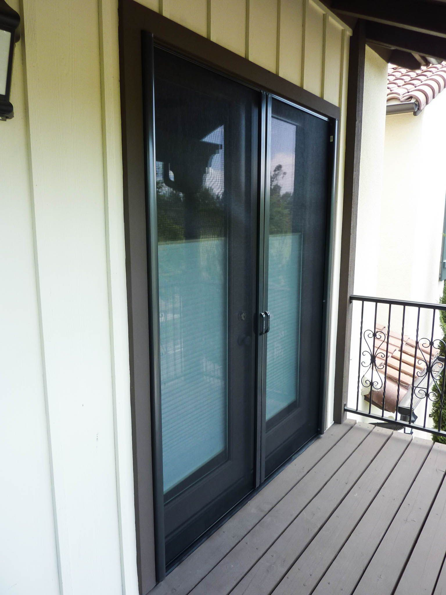 Pin on French Door StowAway Retractable Screen Doors