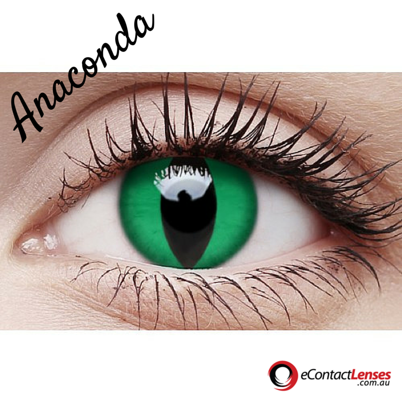 Unleash Your Wild Side With The Anaconda The Anaconda Is The Largest Snake In The World They Can Green Contacts Lenses Contact Lenses Colored Contact Lenses