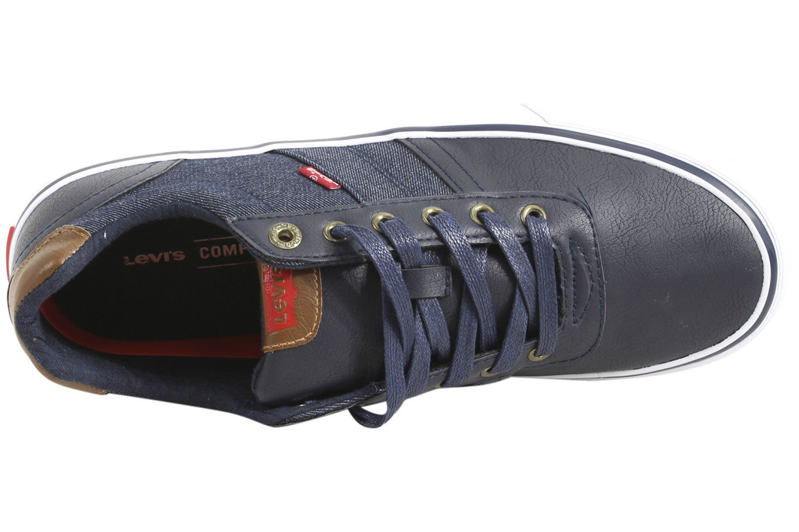 e4598890e03a6 Levis Mens Miles Cacti Denim Navy Sneakers Shoes SZ  9.5 -- Want additional  info  Click on the image. (This is an affiliate link and I receive a  commission ...