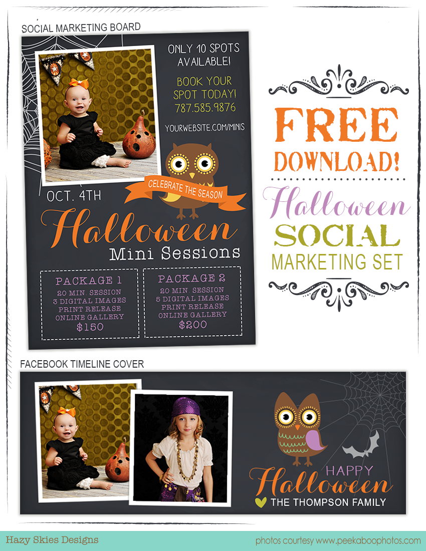 Free halloween marketing templates for photographers halloween free halloween marketing templates for photographers halloween fall yelopaper Choice Image