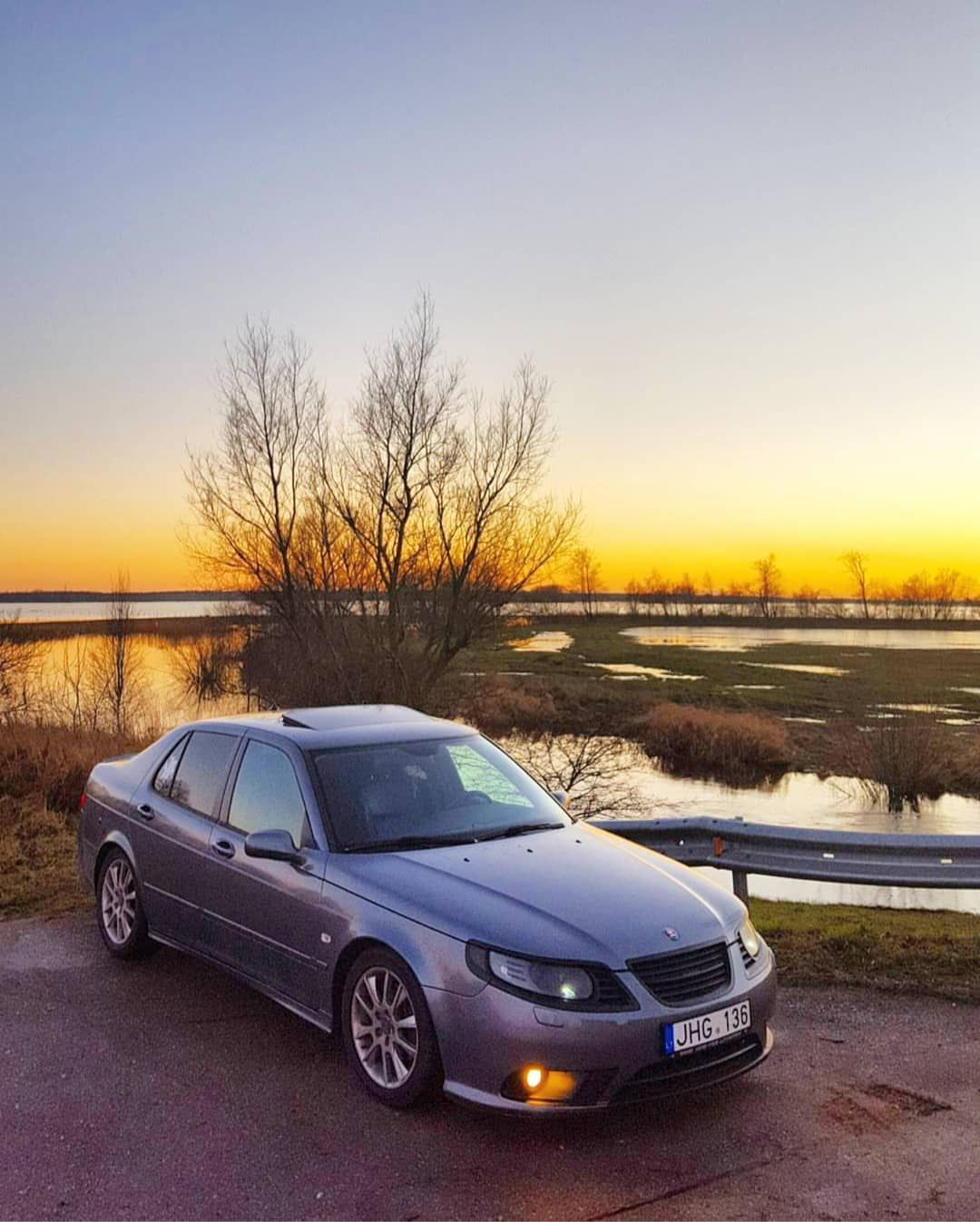 Saab North On Instagram Lukanis1 Daily Has This Awsome Saab 9 5 With A 9 3 Front Bumper Saab Instagram Awsome