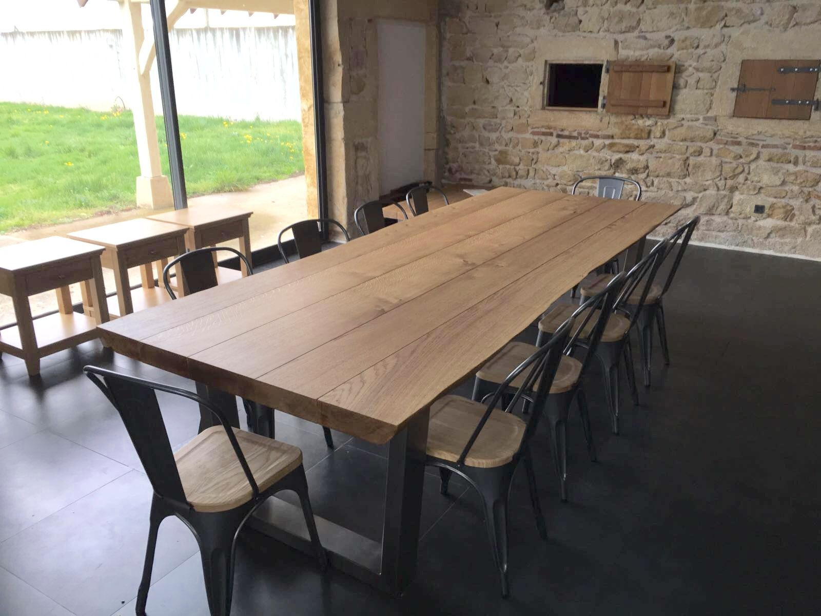 The Komodo 3000 X 1100 Dining Table With 65mm Thick Top
