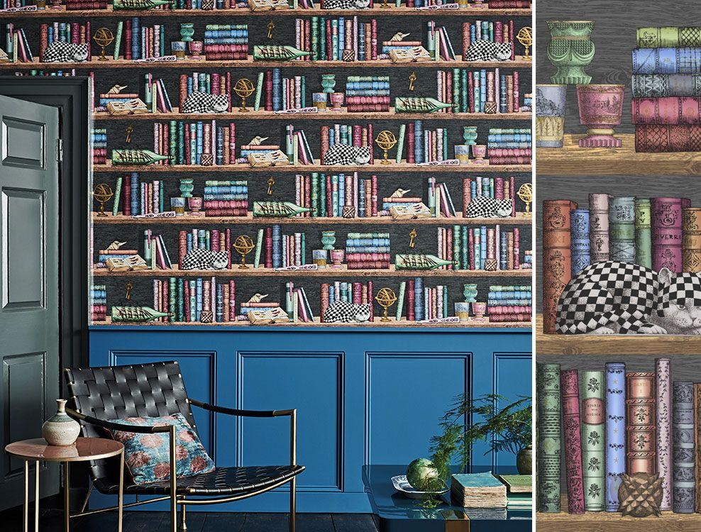 Papier peint Libreria Senza Tempo de Cole and Son ou les
