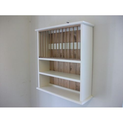 Painted pine plate rack with shelving. W70cm. 70x72x22  available from Jeremy Hill Furnishings  sc 1 st  Pinterest & Painted pine plate rack with shelving. W70cm. 70x72x22  available ...