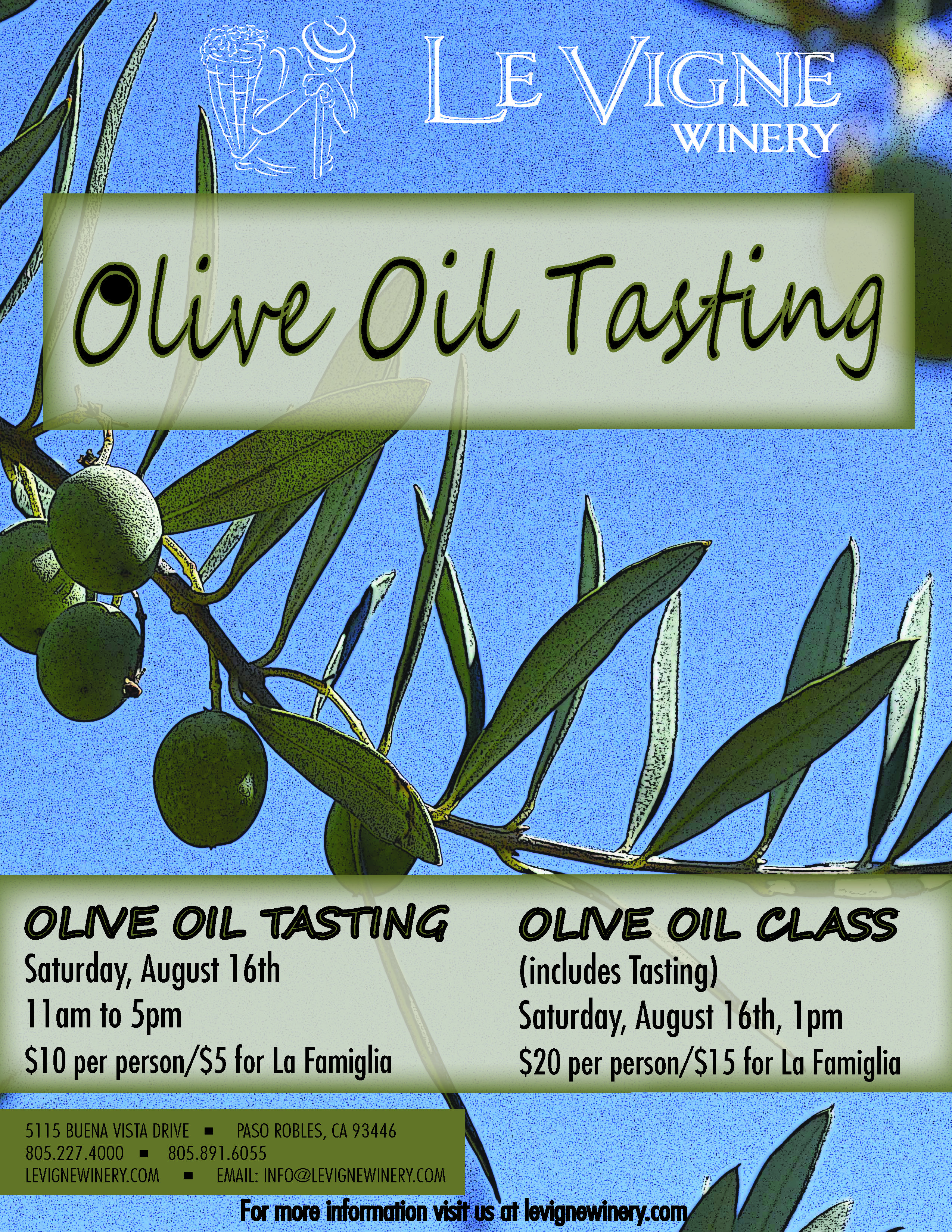 Love oliveoil want to learn more levignewinery is