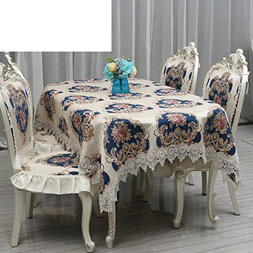 Upscale Dining Table Cloth Art Luxury American Restaurant Table