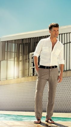 Image Result For Linen Mens Trousers Fashion Week