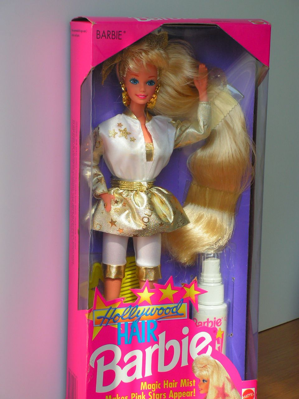 Hollywood hair barbie - we called her big hair barbie. My child had a hand me down one in the late 90's.