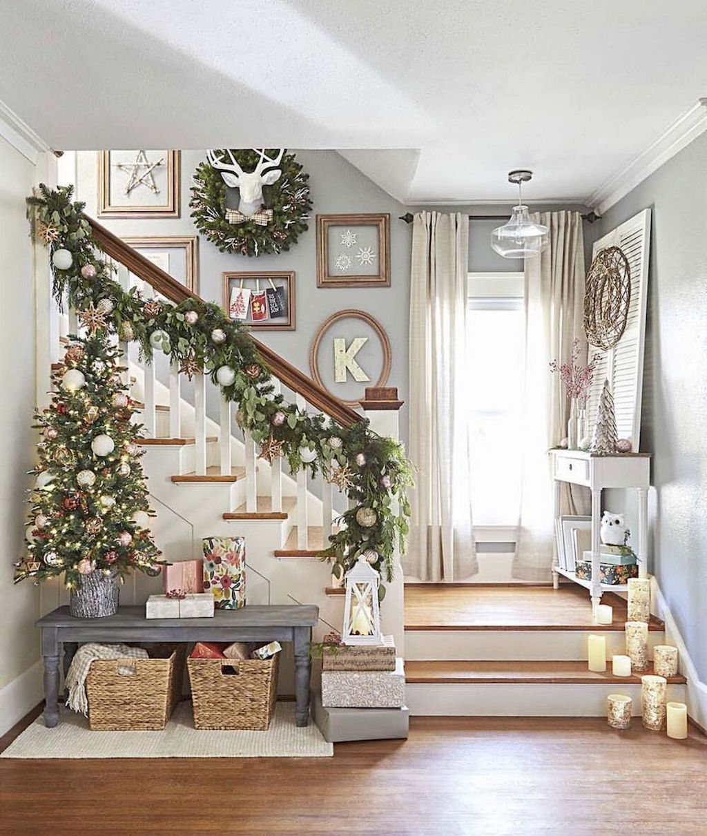 65 Modern Farmhouse Christmas Decorating Ideas Patricia Decor Holiday Decor Christmas Home Christmas Decorations
