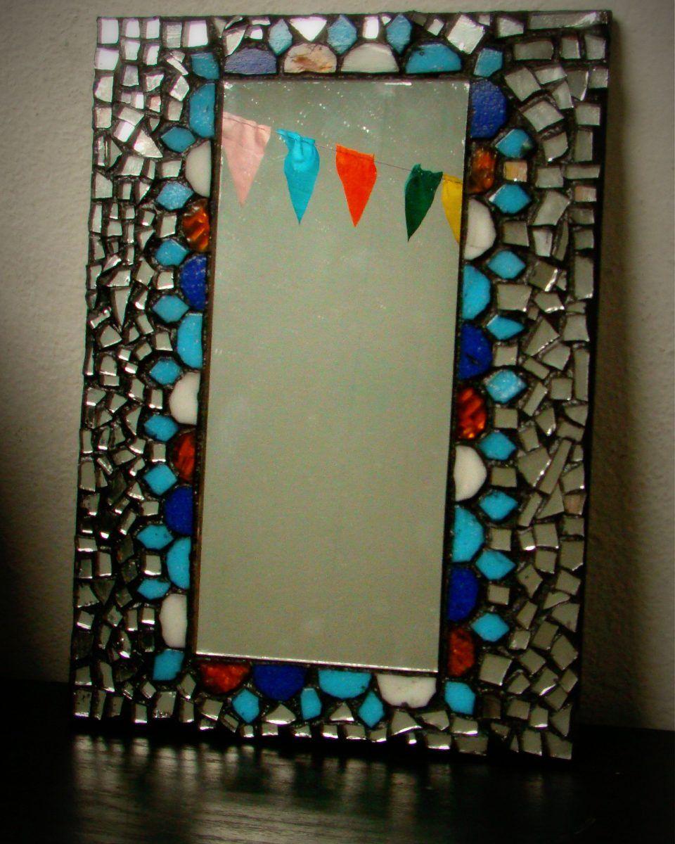 Resultado de imagen para espejos de baño con mosaiquismo   Arte ...