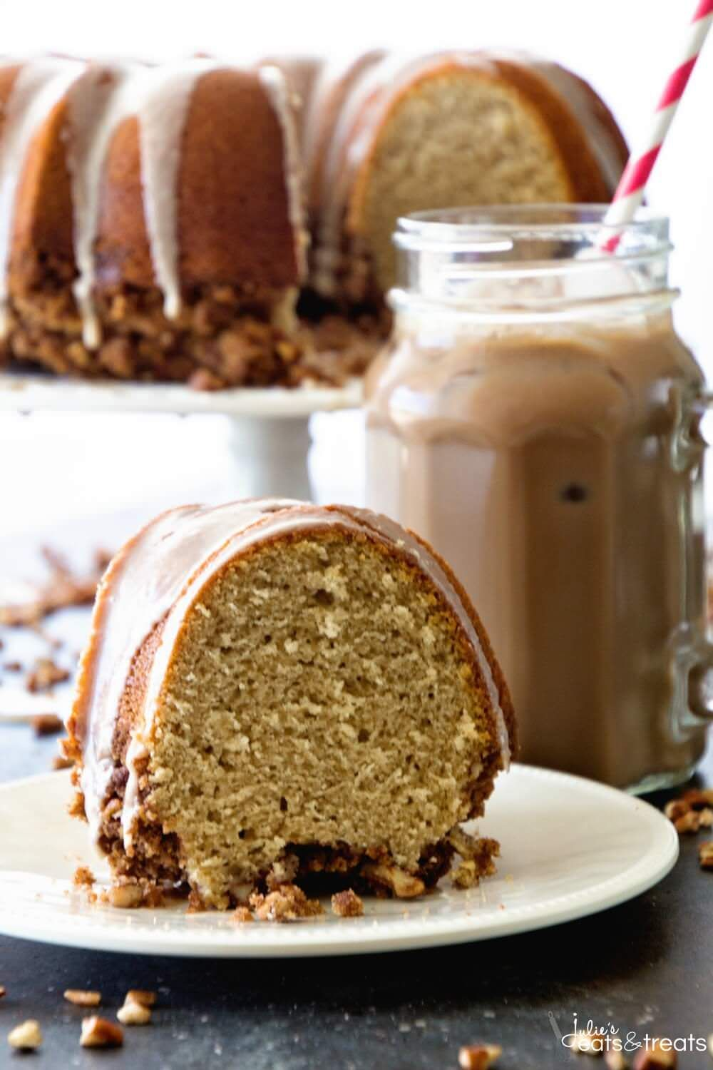 Mocha Iced Coffee Cake Delicious and Easy Coffee Cake