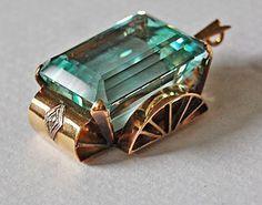 Vintage gold setting large aquamarine pendant google search vintage gold setting large aquamarine pendant google search aloadofball Image collections