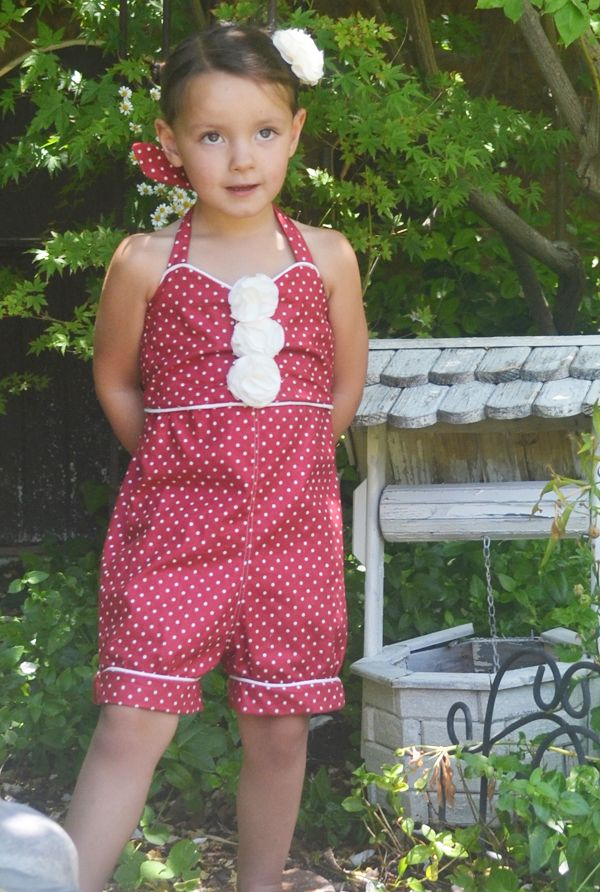 Childrens Romper Sewing Pattern Sew Sweet Patterns Sewing