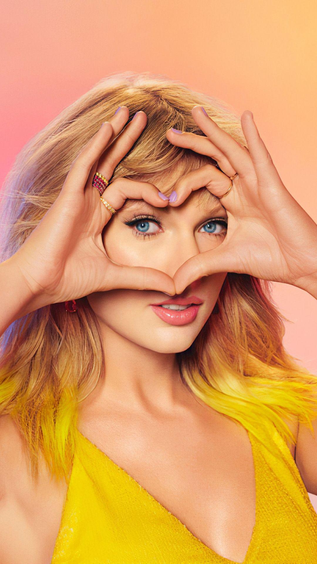 1080x1920 Taylor Swift, Apple music, 2020 wallpaper in