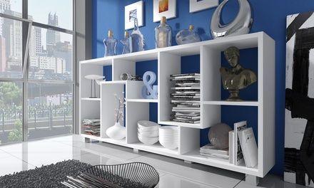 Design-Wohnzimmerregal in horizontaler oder vertikaler ...