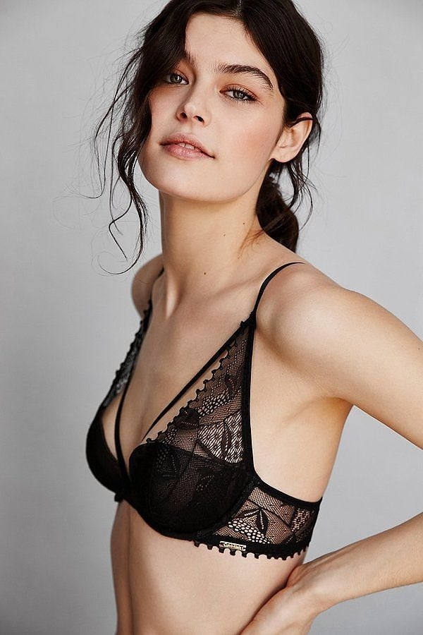 The Sexiest Bras For Small Busts | Plunge bra, Calvin klein and We