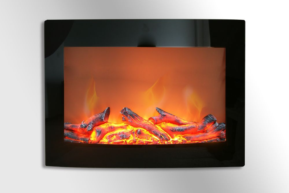 Daniel 24 Inch Wall Mount Electric Fireplace Products
