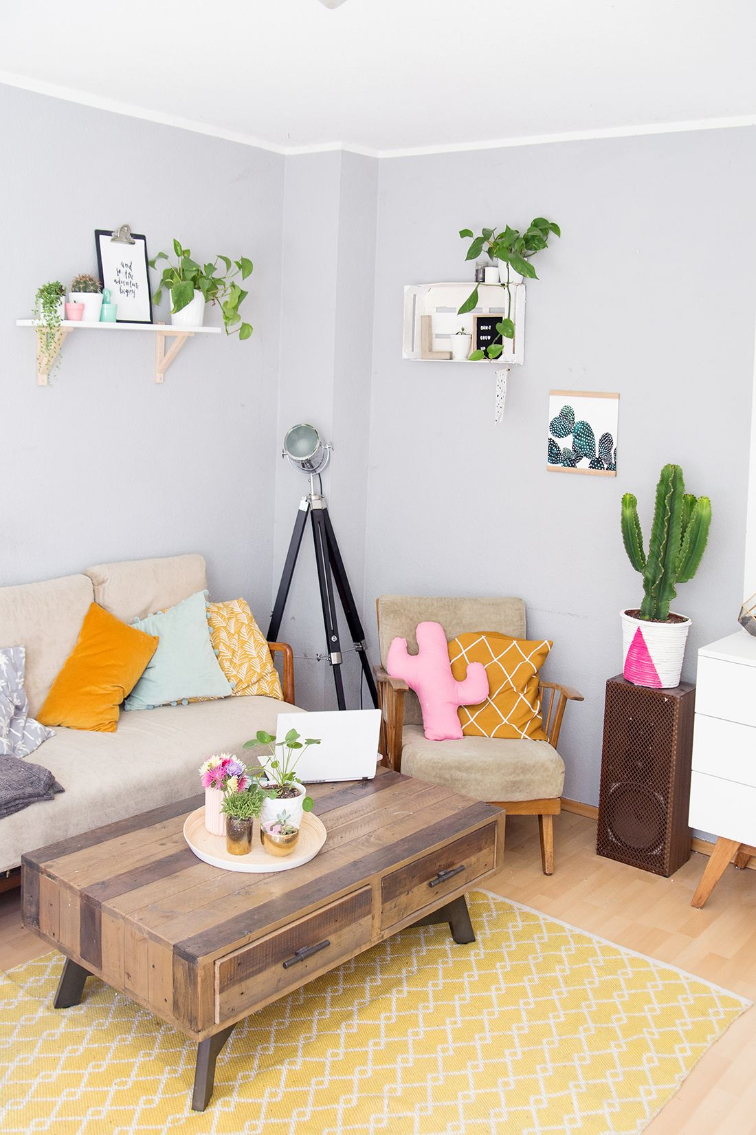 wohnzimmer umstyling mit viel diy deko in 2018 interior wohnzimmer pinterest. Black Bedroom Furniture Sets. Home Design Ideas