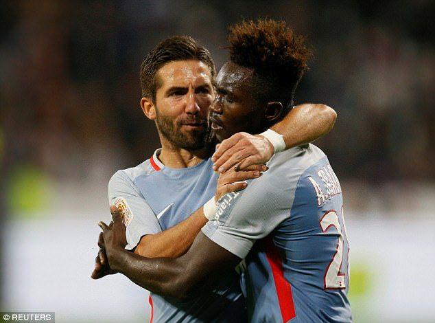 Lyon 3 2 Monaco Nabil Fekir Scores Late Winner Monaco Lyon Scores