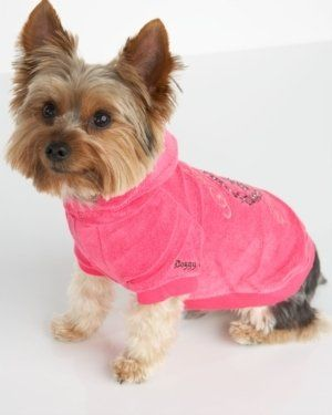 ShopStyle: Dog Terry Hoodie