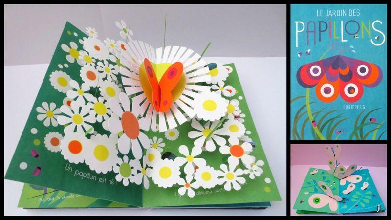 Le Jardin Des Papillons Ohpop Up Le Blog Des Livres Animes