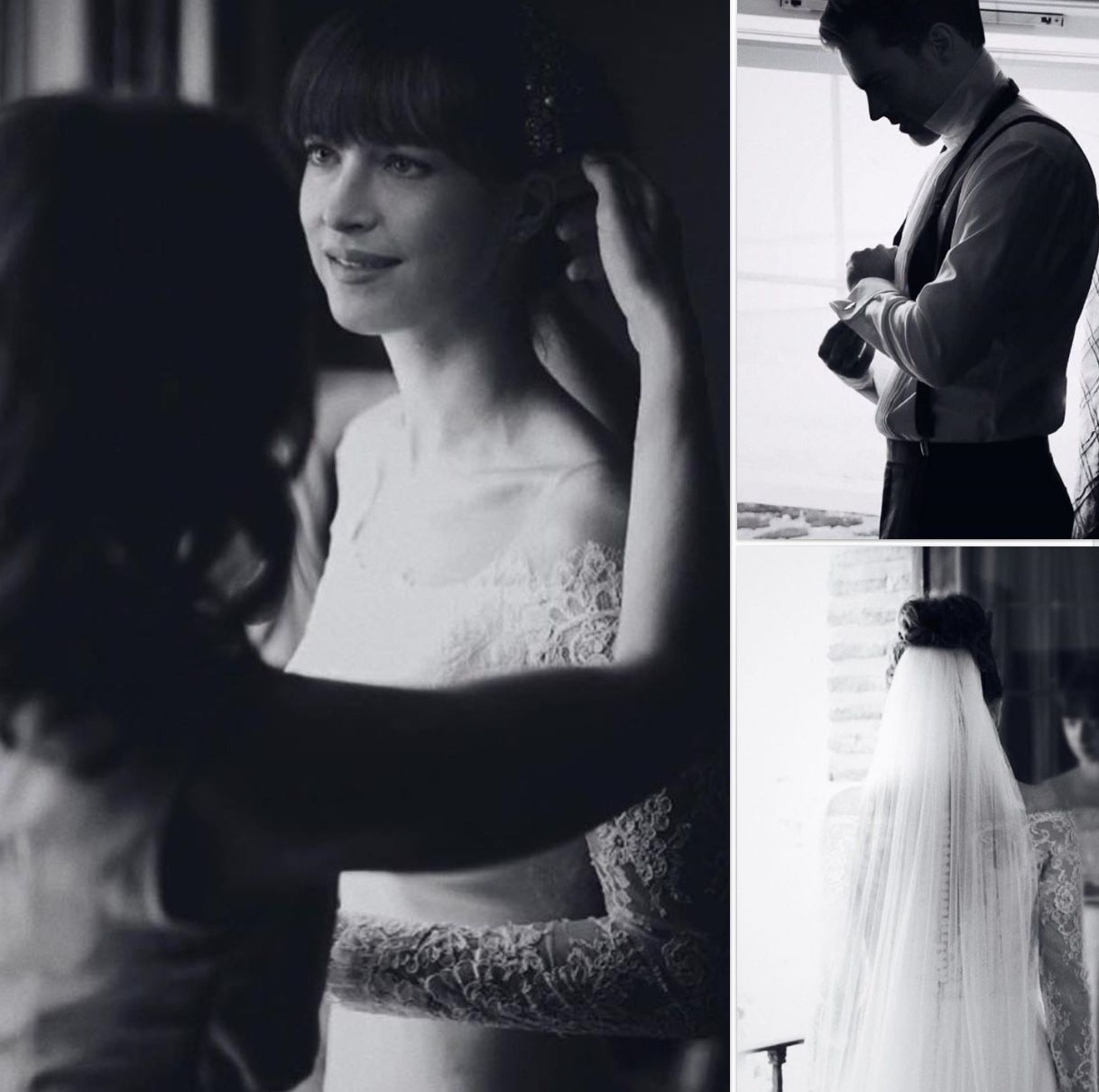 Christian Grey And Anastasia Steele S Fifty Shades Freed Wedding Album Get The First Inside Look Grey Wedding Dress Fifty Shades Wedding Dresses [ 2249 x 1500 Pixel ]