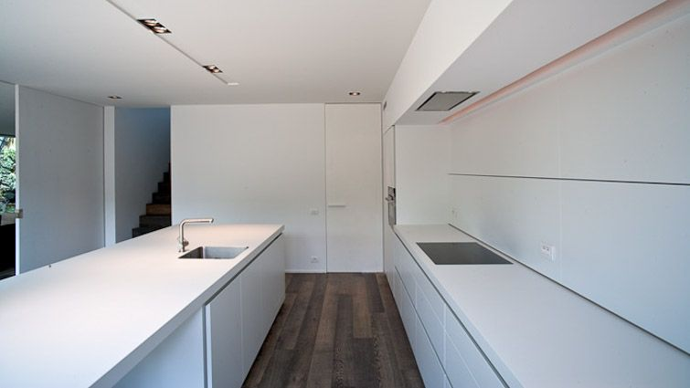 Architect francisca hautekeete architectuur own house