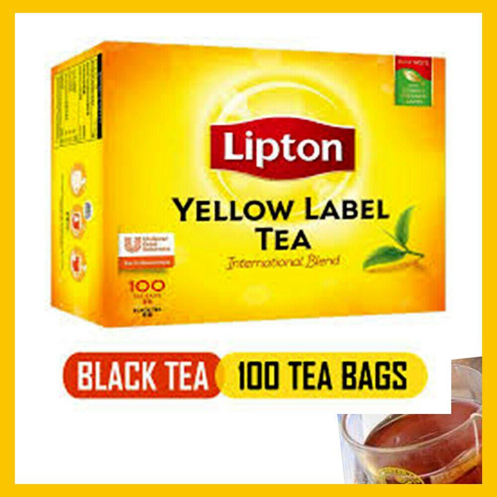 Lipton Yellow Label 100 Tea Bags 200g The Single Origin