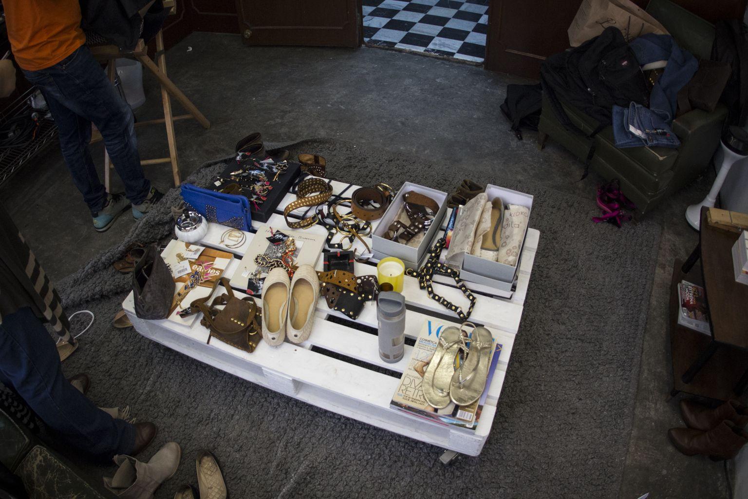 Algunos de los accesorios que se utilizaron en esta sesión.  Primavera-Verano 2013 / La Esquina Azul