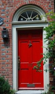 Apparently, A Red Front Door Provides Protection And Means U201cwelcome Part 92