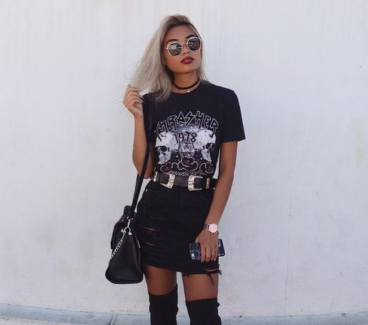 20 Cool And Edgy Outfits For Going Out Society19 Edgy Outfits Fashion Womens Fashion Edgy
