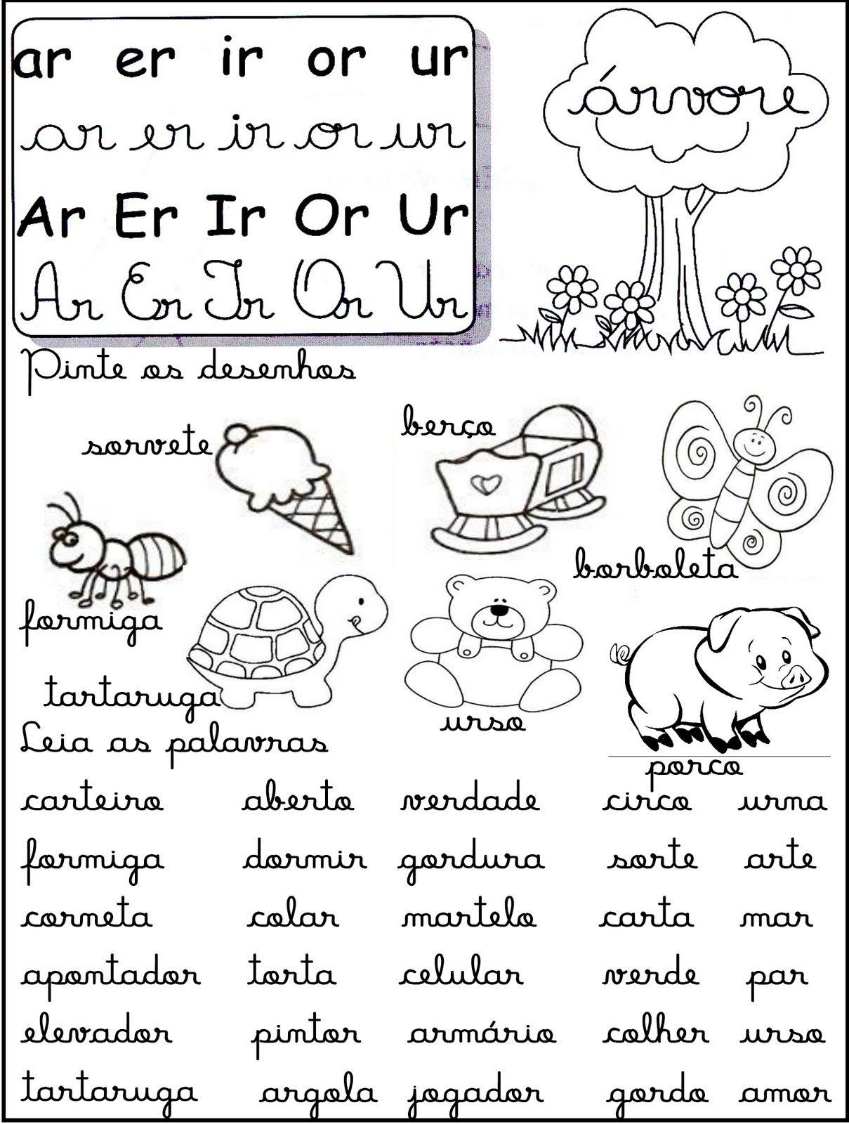 Portal Do Professor Do Ensino Infantil Leiturinhas De Palavras
