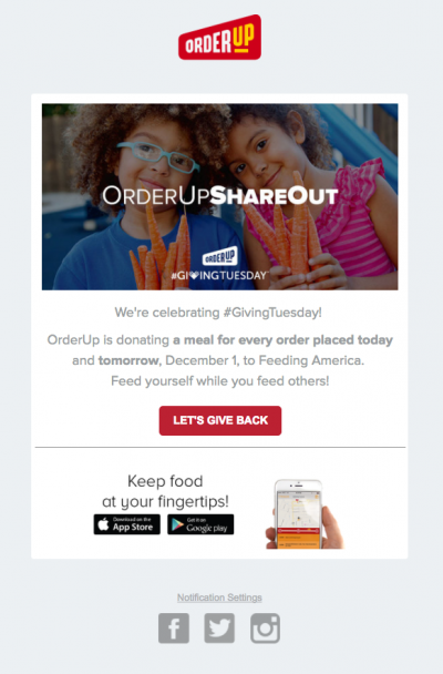 Our favorite GivingTuesday email examples Giving
