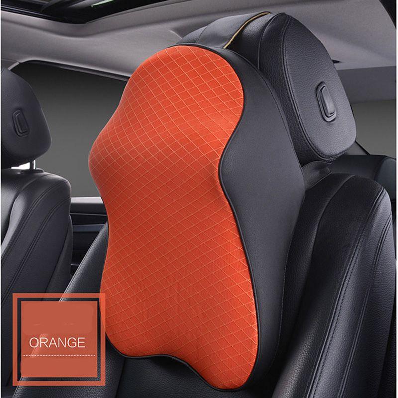 Draaistoel In Auto.3d Spare Car Headrest Breathable Ice Silk Automobile Neck Supports